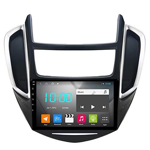 Nav Android 10.0 Car Stereo Double DIN para Chevrolet Track 2014-2016 Navegación GPS Unidad Principal de 9 Pulgadas Reproductor Multimedia MP5 Receptor de Video y Radio con 4G WiFi DSP