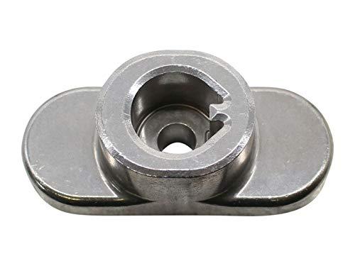 SECURA Messernabe kompatibel mit WOLF-Garten A 4200 11A-LOSC650 Rasenmäher