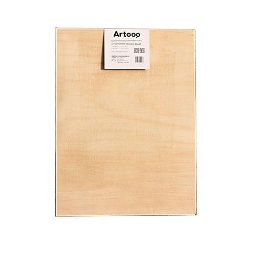 Easy Kunst GmbH Zeichenbrett Holz Malerei aus Lindenholz (4K (45 x 60 cm))
