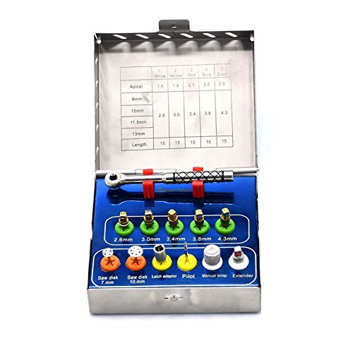 AAProTools Bone Expander Kit Sinus Lift with Saw Disks Surgi Implant Inst DN-2195