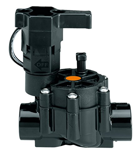 Rainbird ZX12100D Electroválvula, Hembra, 3/4, Especial riego/Goteo, Negro, 14.00x11.00x8.00 cm