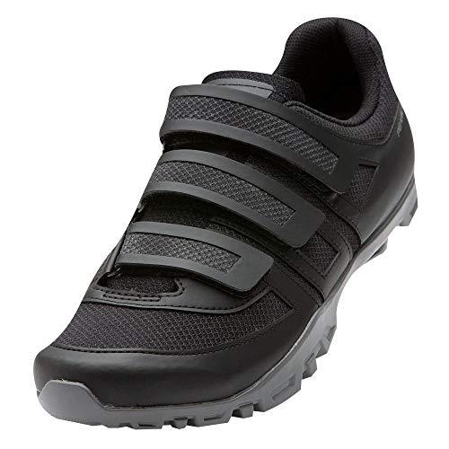 PEARL IZUMI Men's All-Road v5 Cycling Shoe, Black/Black, 49