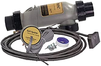 Zodiac PLC700 7-Blade 3-Port PureLink Cell Kit with 2-Inch to 2.5-Inch PVC Universal Unions and 16-Feet Cables