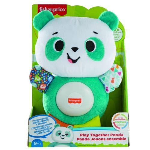 Fisher-Price - Parlamische Baby Panda Spiele mit Me, Lernspiel mit Licht und Geräuschen für Kinder 9 + Monate, GVN32