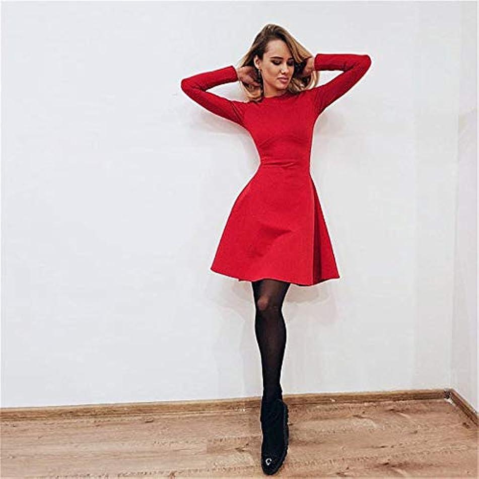 一般化するテクトニック戦略Onderroa - 秋と冬の新しい女性の長袖タイトフィットドレスの秋と冬のスリムでエレガントな品質のミニドレス