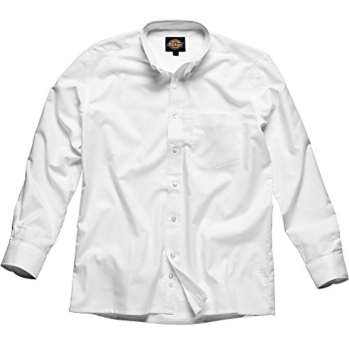 Dickies SH64200 WH 19 Oxford Chemise Taille 48 Blanc