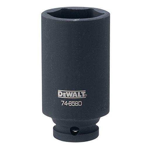 DEWALT DWMT74658OSP 6 Point 1/2 Drive Deep Impact Socket 1-1/4 SAE