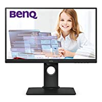"BenQ GW2480T - Monitor de 23.8"" FullHD (1920x1080, 5ms, 60Hz, HDMI, IPS, DisplayPort, VGA, Altavoces, Eye-Care, Sensor Brillo Inteligente, Flicker-Free, Low Blue Light, Regulable Altura) - Color Negro"