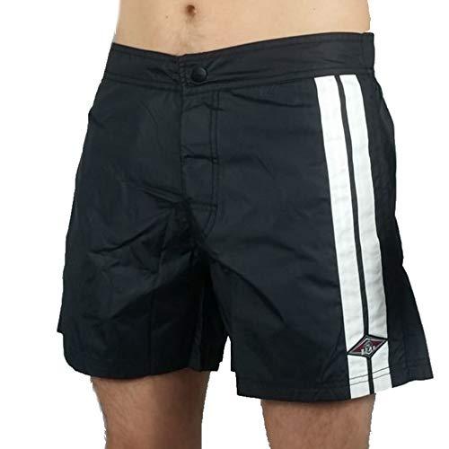 Bear Pantaloncini Corti Boardshort Boxer Mare Costume Bagno SS20 2760670930 Malibù Night Black (34)