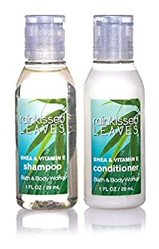 Bath & Body Works Rainkissed Leaves Shampoo and Conditioner Lot of 18 Bottles  9 of each  Total of 18oz