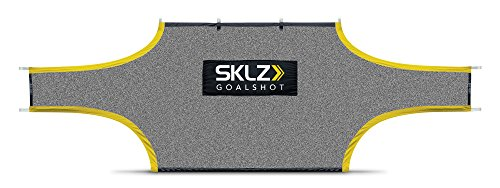 SKLZ Goalshot Soccer Goal Target Training Aide for Scoring and Finishing, 18.5 x (6.5 - 6.6) Feet