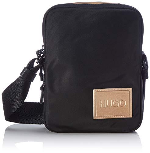 HUGO Herren Record LG_NS Zip Crossbody-Bag, Black1, Normal
