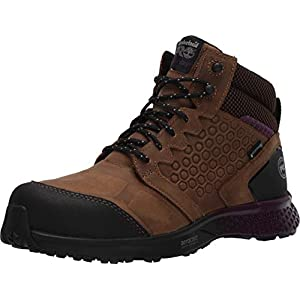 Timberland PRO Women's Reaxion Athletic Hiker Work Shoe Industrial Boot, Brown/Purple