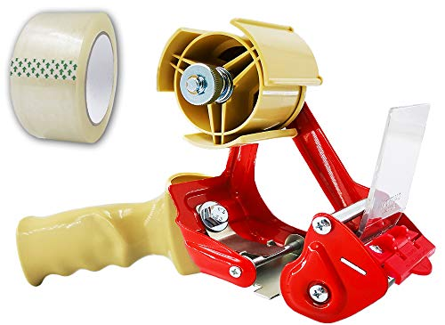 Elepa Packing Tape Dispenser Gun–Ergonomic Heavy Duty, 2 Inch Wide, Elepa Sealing Cutter, Used for Warehouse Storage Packaging, Carton Sealing