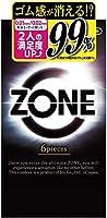 ZONE ゾーン コンドーム 6個入 5個パック