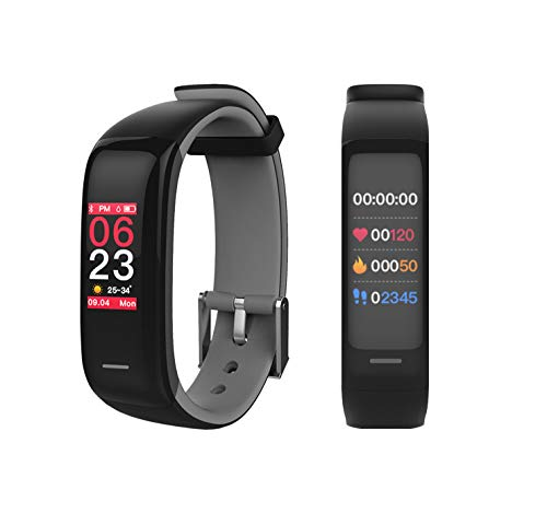 LCARE Band 2S Fitness Band with Blood Pressure andHear Rate Monitor Direct USB Charge