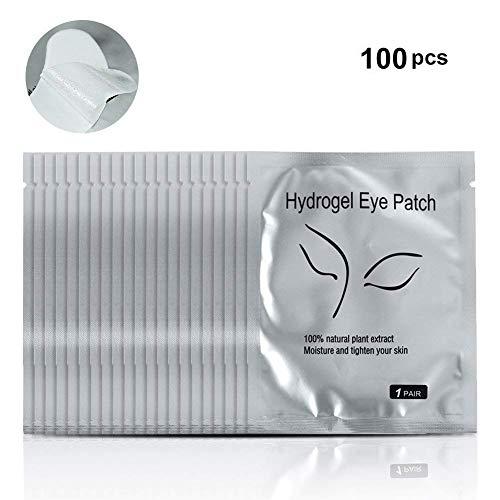 Yosoo 100 Paar Gel Pflaster/Maske der Augen Instrumente von Schönheit von Wimpern Verband Und Auge des Kollagen