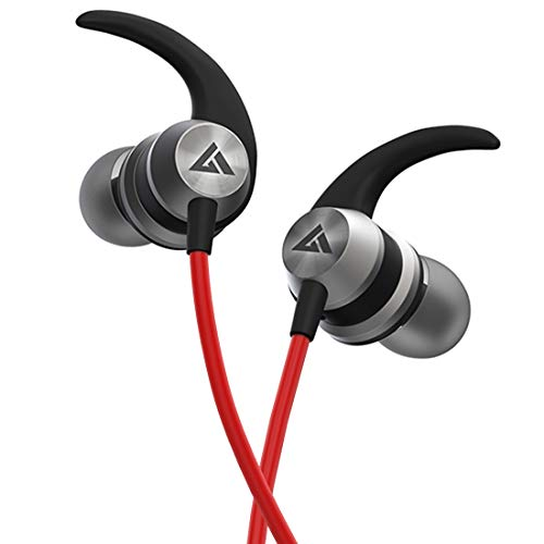 Boult Audio BassBuds X1 in-Ear Wired Earphones with 10mm Extra Bass Driver and HD Sound with mic(Red)