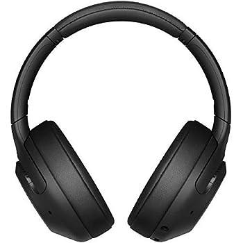 ソニー ワイヤレスノイズキャンセリングヘッドホン: 重低音モデル / Amazon Alexa対応 / bluetooth / 最大30時間連続再生 2019年モデル / マイク付き/ブラック WH-XB900N B