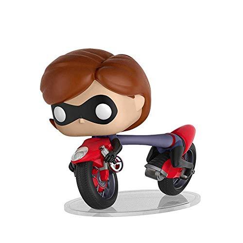 Funko POP! Rides Disney: Los Increíbles 2: Elastigirl montada en una moto