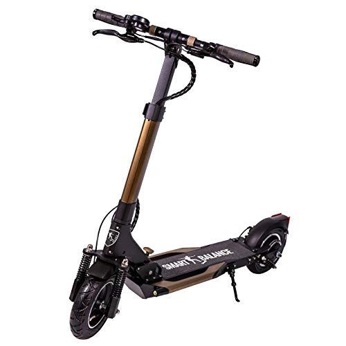 Smart Balance Electric Scooter SB7 Dual Power Premium Brand, Motor 1000 Wat, Top Speed 25km/h, Autonomy 50 km, USB Port