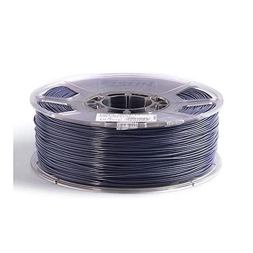 M I A ABS+filamento 1,75 mm ABS Plus 3D stampante filamento precisione +/- 0,05 mm 1 kg bobina 3D materiale di stampa per stampante 3D rosso_1,75 mm (colore : grigio, dimensioni: 1,75 mm)