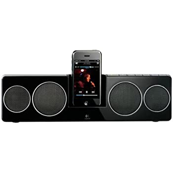 LOGICOOL Pure-Fi Anywhare 2 iPhone/iPod対応 ブラック PF-500-RBK