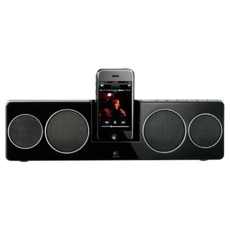 LOGICOOL Pure-Fi Anywhare 2 iPhone/iPod対応 ブラック PF-500-RBK