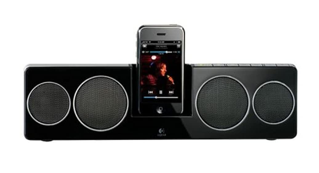 方向札入れ有料LOGICOOL Pure-Fi Anywhare 2 iPhone/iPod対応 ブラック PF-500-RBK