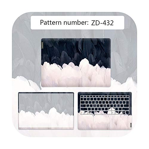 Cubierta de textura avanzada para portátil Lenovo G40 80/FLEX 3 1570/YOGA 710/etc-ZD-432-flex 4 1470