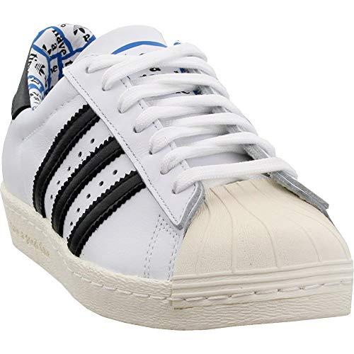 adidas Men's Supersatr 80s x Have A Good Time White/Black G54786 (Size: 11)