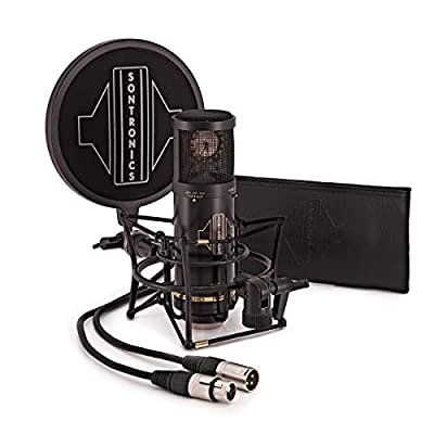 Sontronics STC-3X PACK 3-Pattern Condenser Microphone With Accessories - Black