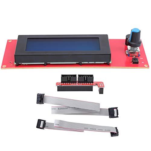 Smart Controller Display Scheda madre Clear Liquid Crystal Display 12864 Modulo di controllo LCD Pannello di controllo LCD con lettore di schede di memoria per stampante 3D