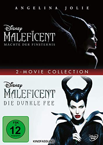 Maleficent - Mächte der Finsternis / Maleficent - Die dunkle Fee [2 DVDs]