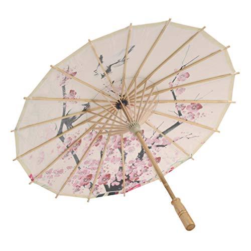 EXCEART Papier Paraplu- Chinese Stijl Olie Papier Paraplu Schilderen Dansen Fotografie Prop Voor Banket Party Schieten