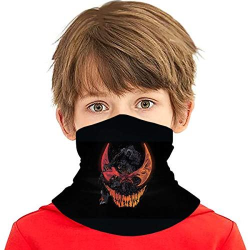 Venom Kids Face Mask Bandanas, Cool Neck Gaiter for Sun Dust Wind, Protective Face Scarf & Headband for Boy/Girl