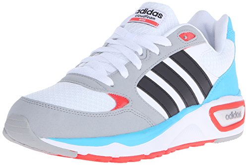 adidas Women's Cloudfoam 8TIS Sneaker White/Black/Matte Silver 8.5 ...