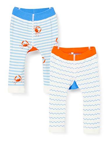 Joules Baby-Jungen Lively Legging, Mehrfarbig (Multi Shark and Crab Mlshrkcrab), Medium (Herstellergröße: 6-12)