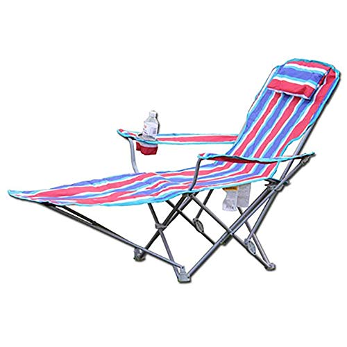 BSDBDF Silla Plegable Ajustable para Camping, portátil, Transpirable, reclinable, para jardín, Playa, Senderismo, picnics