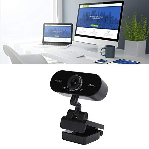 BOLORAMO Cámara Web USB, cámara Web HD Inteligente con reducción automática de Ruido para Vista / Win7 / Win8 / Win10, etc.
