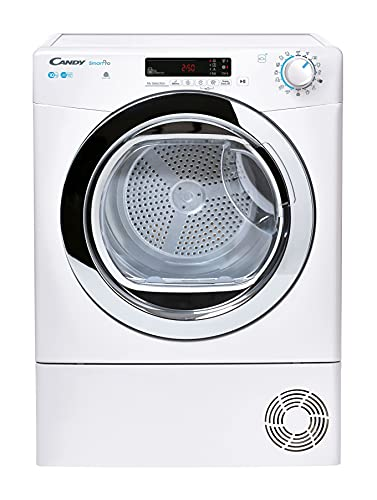Candy Smart Pro CSOEC10DCG Freestanding Condenser Tumble Dryer, Large Capacity, 10 kg Load, White