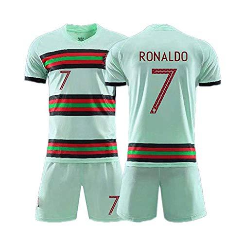 Leichtes Team-Fußball Trikot Unisex Ronaldo #7 Für Kinder & Erwachsene Casual Oder Sport Shirt,M