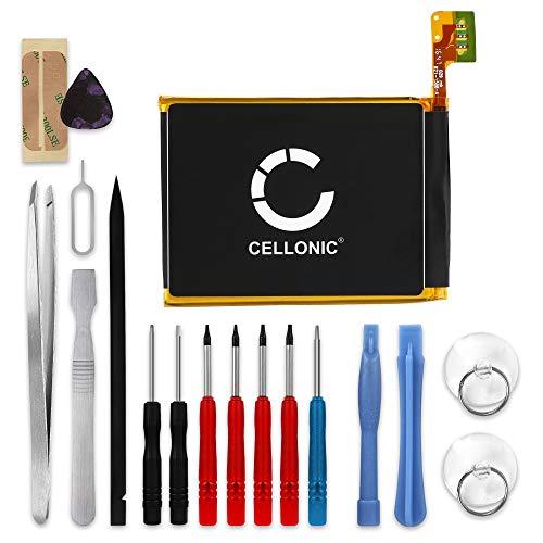 CELLONIC® Batería Premium Compatible con Apple iPod Touch 5 Gen. A1421, iPod Touch 5 Gen. A1509, 616-0621 616-0619 LIS1495APPCC 1000mAh + Juego de Destornilladores bateria Repuesto Pila