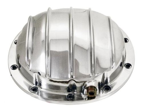 1964-UP Chevy/GM Polished Aluminum Rear Differential Cover - 10 Bolt w/ 8.5