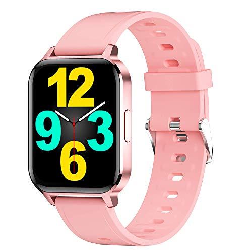 Smartwatch 1.7   Pollici Orologio Fitness Tracker Uomo Donna,Bluetooth Smart Watch Android iOS,Orologio Intelligente Impermeabile IP68 Activity Tracker Contapassi Cardiofrequenzimetro da polso Schermo