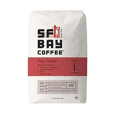 SF Bay Coffee Fog Chaser 28 Ounce Ground Medium Dark Roast