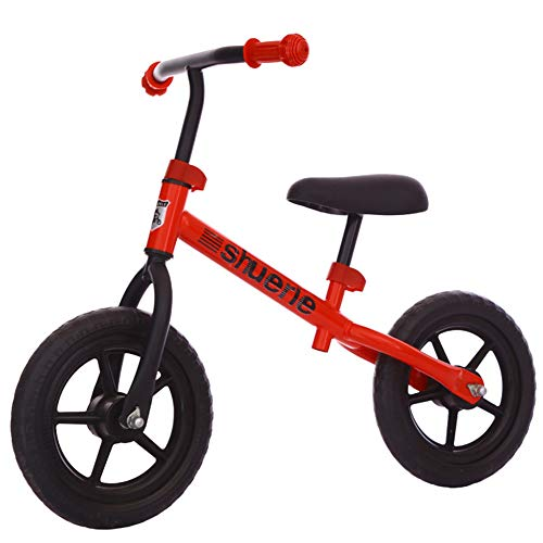 Baby Balance Bike,No Pedal Toddler Bike with Carbon Steel Frame Adjustable Handlebar and Seat Toddler Walking Bicycle,Best Gifis