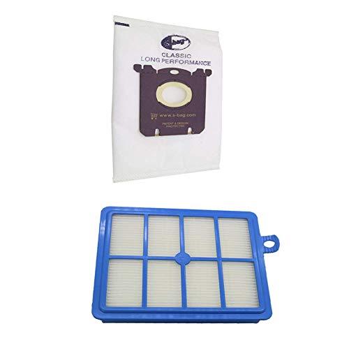 Yongenee 12 unids/set 2 reemplazo hepa filtro 10 unids bolsas de polvo para Electrolux aspiradora filtro electrolux hepa y S-BAG