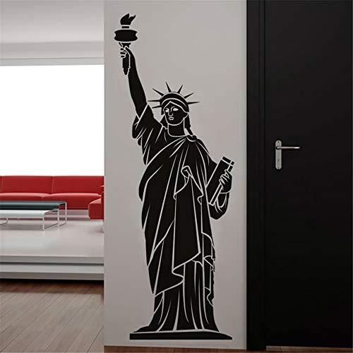 Stickers Muraux New York Landmark Building Statue De La Liberté Home Decor Salon
