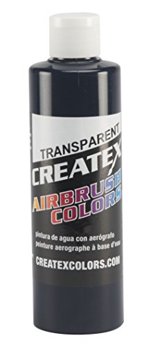Createx Colors Paint for Airbrush, 8 oz, Transparent Deep Blue by Createx Colors